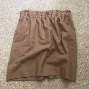 J Crew Paper Bag Skirt